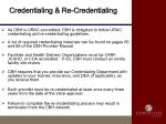 credentialing re credentialing