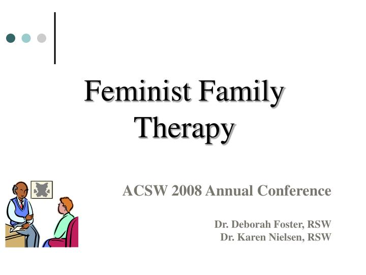feminist family therapy n.