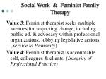 social work feminist family therapy1