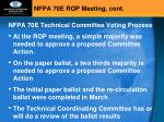 nfpa 70e rop meeting cont1