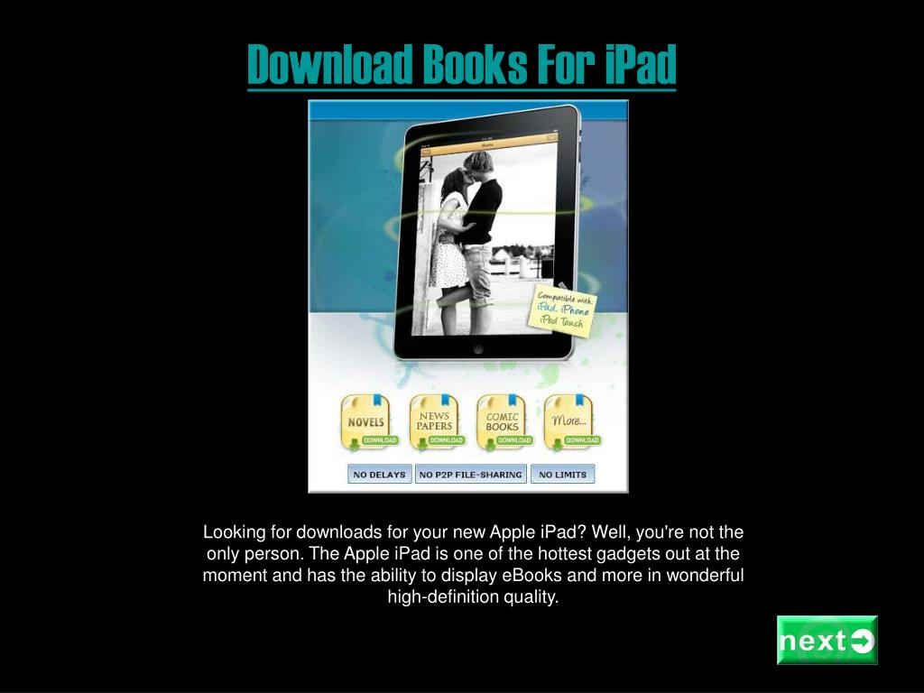 download books for ipad l.