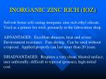 inorganic zinc rich ioz