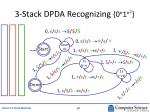 3 stack dpda recognizing 0 n 1 n 2