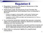 regulation e