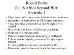 roelof botha south africa beyond 2010 scenario 1