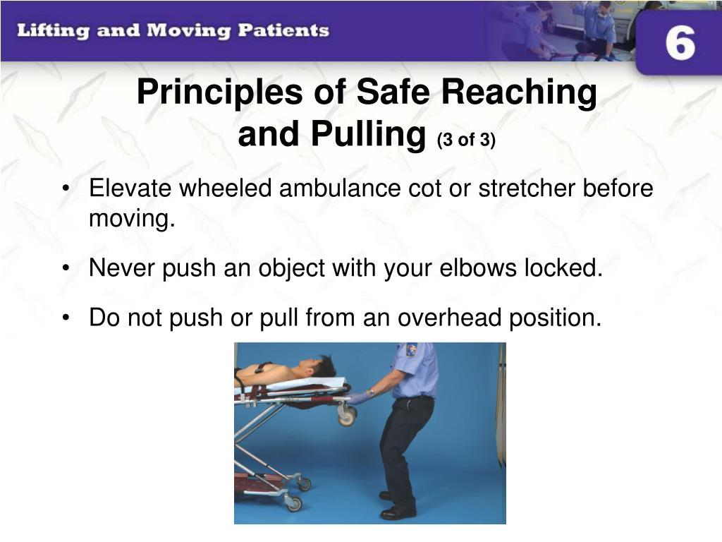 Principles of Safe Reaching