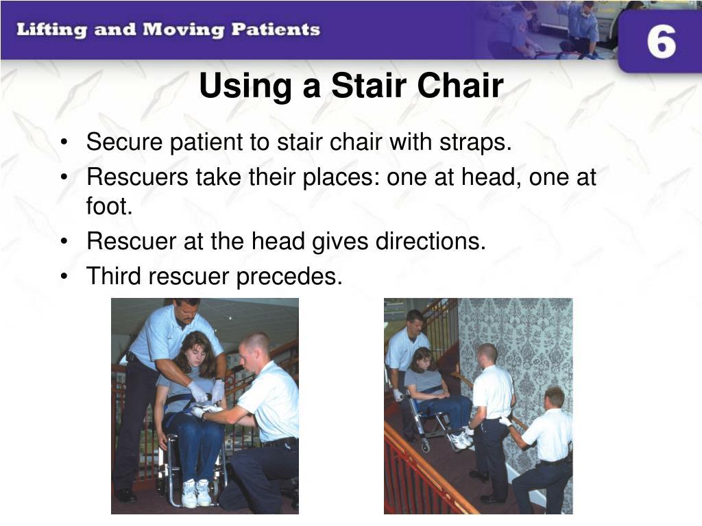 Using a Stair Chair