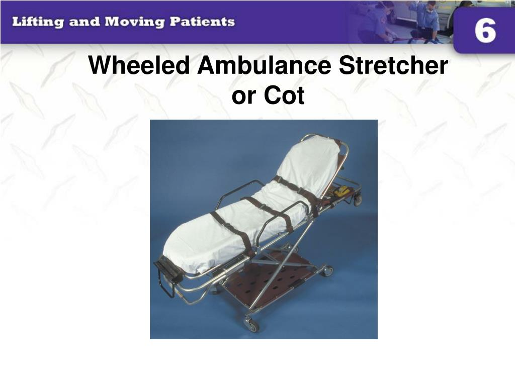Wheeled Ambulance Stretcher
