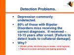 detection problems