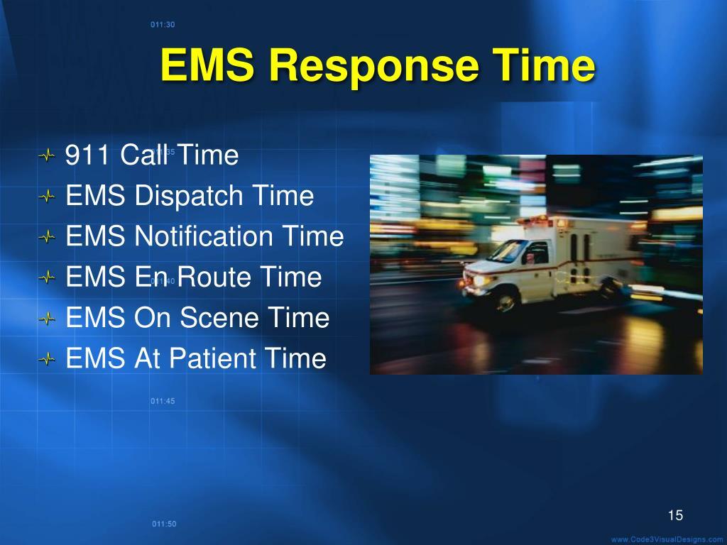 EMS Response Time