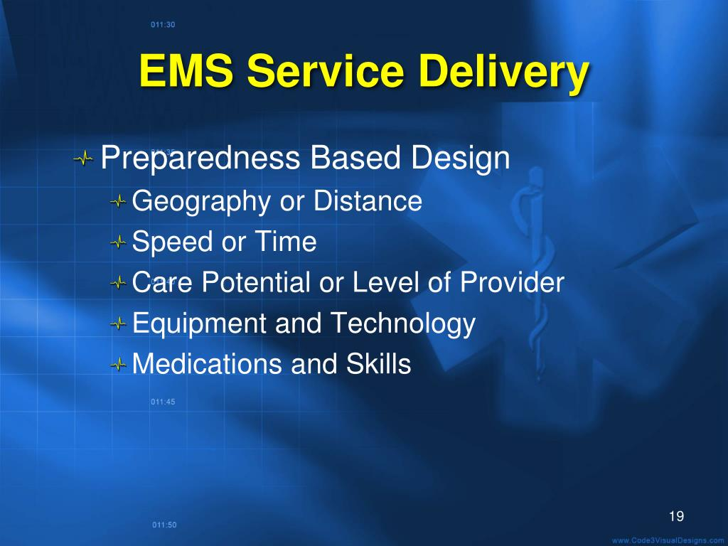 EMS Service Delivery