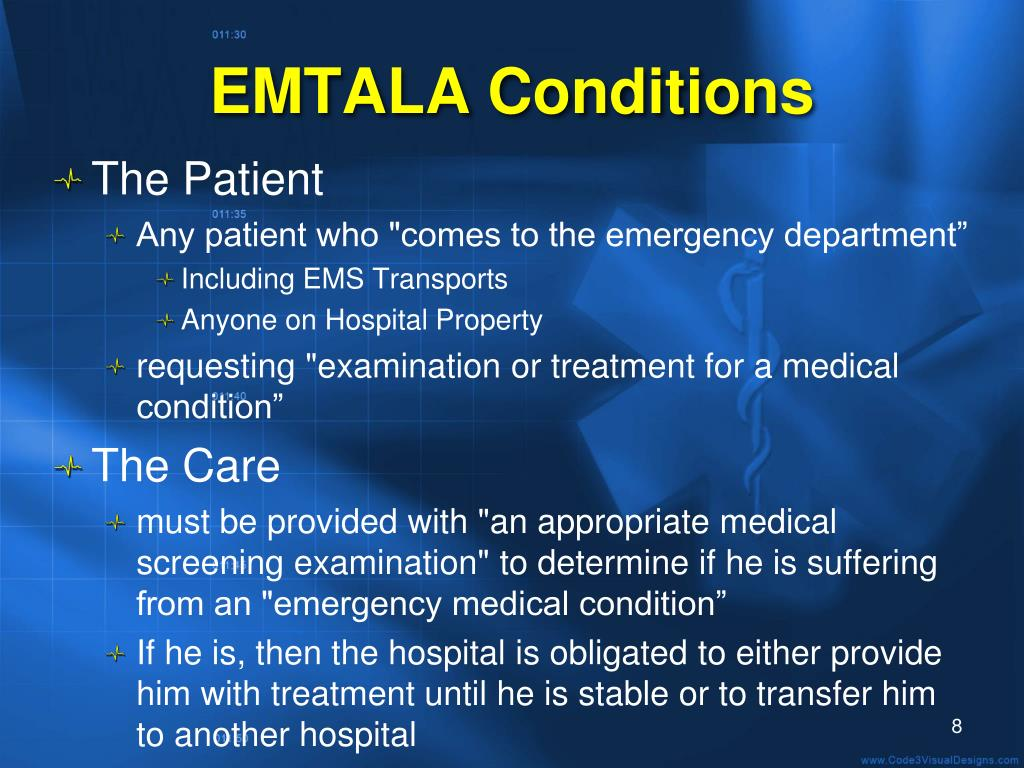 EMTALA Conditions