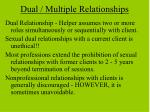 dual multiple relationships
