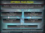 optimus study design