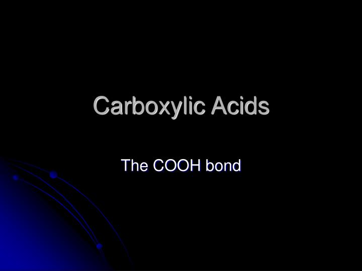 carboxylic acids n.