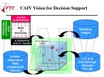caiv vision for decision support