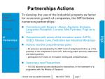 partnerships actions