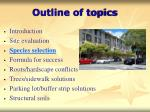 outline of topics2