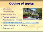 outline of topics5