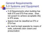 general requirements 5 0 systems and equipment14