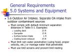 general requirements 5 0 systems and equipment2