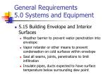 general requirements 5 0 systems and equipment9