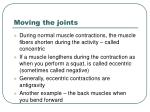 moving the joints1