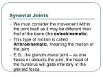 synovial joints8