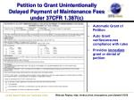 petition to grant unintentionally delayed payment of maintenance fees under 37cfr 1 387 c