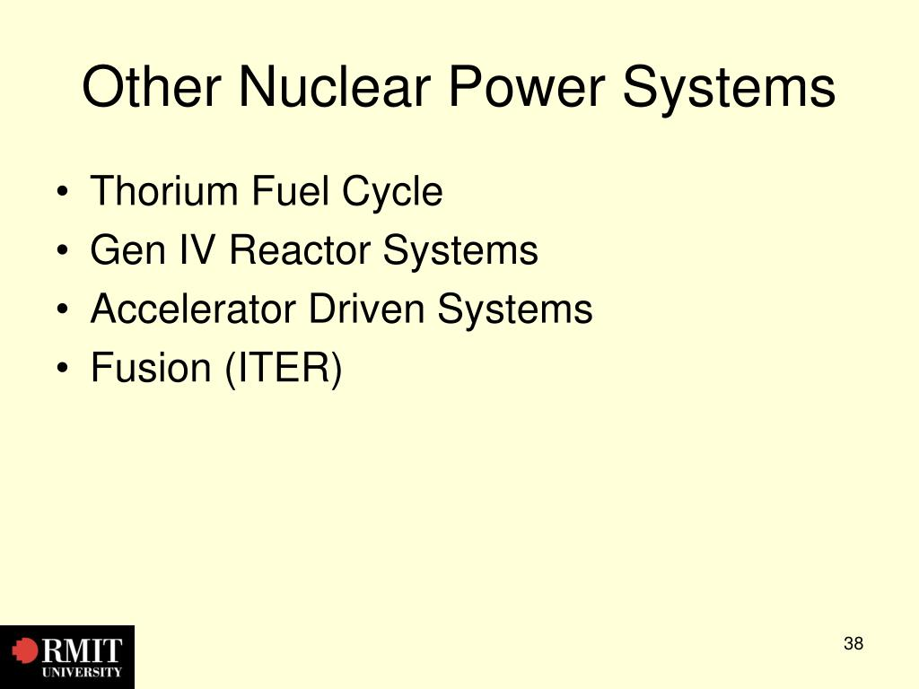 Other Nuclear Power Systems