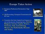europe takes action