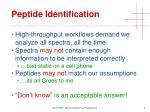 peptide identification3