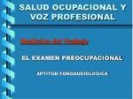 salud ocupacional y voz profesional1