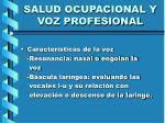 salud ocupacional y voz profesional11
