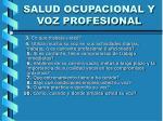 salud ocupacional y voz profesional18
