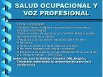salud ocupacional y voz profesional31