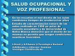 salud ocupacional y voz profesional35
