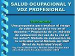 salud ocupacional y voz profesional37