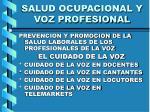 salud ocupacional y voz profesional38