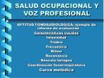salud ocupacional y voz profesional9