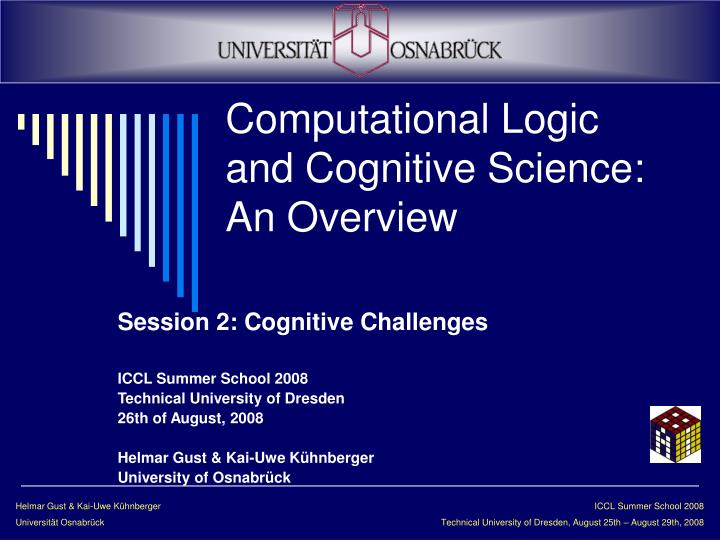 computational logic and cognitive science an overview n.