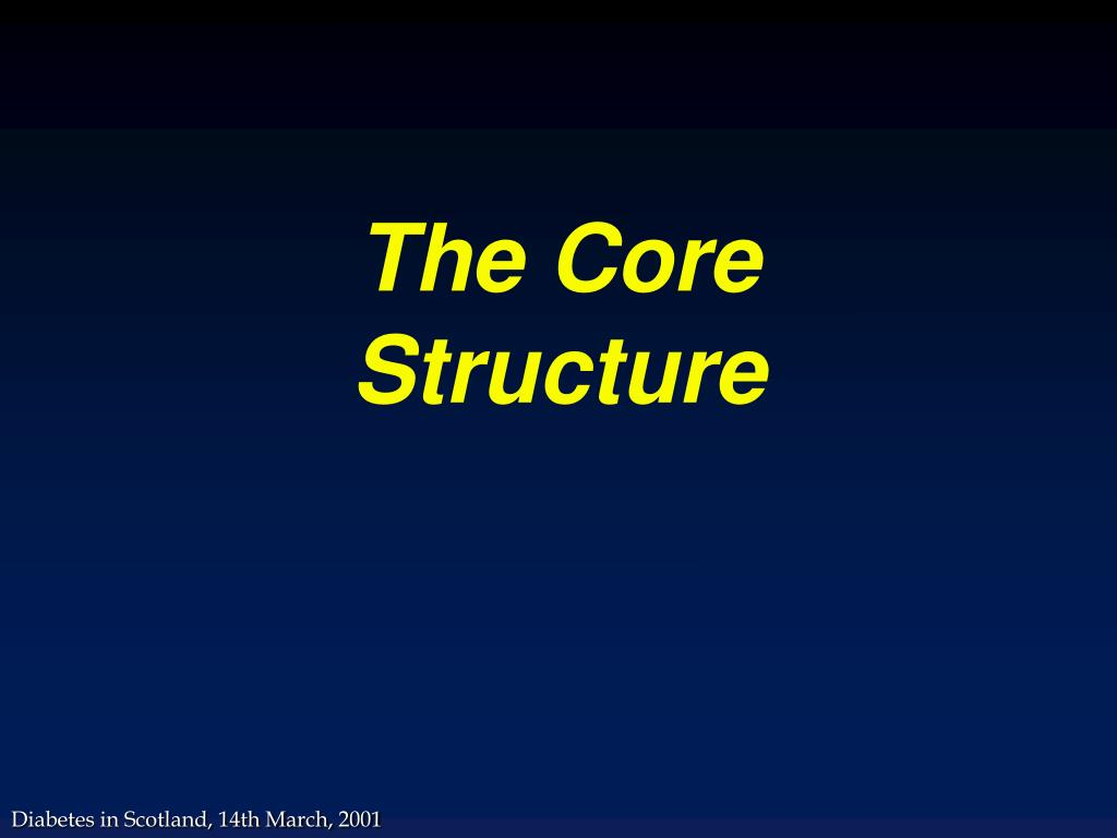 The Core Structure