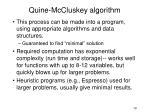 quine mccluskey algorithm