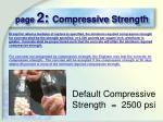 page 2 compressive strength