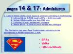 pages 14 17 admixtures