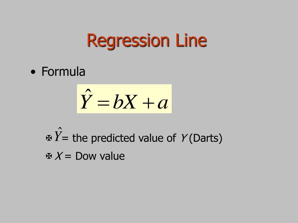 Regression Line