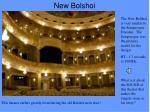 new bolshoi