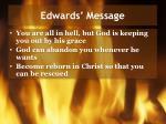 edwards message