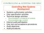 controlling auditing the sdlc