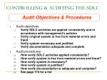 controlling auditing the sdlc1